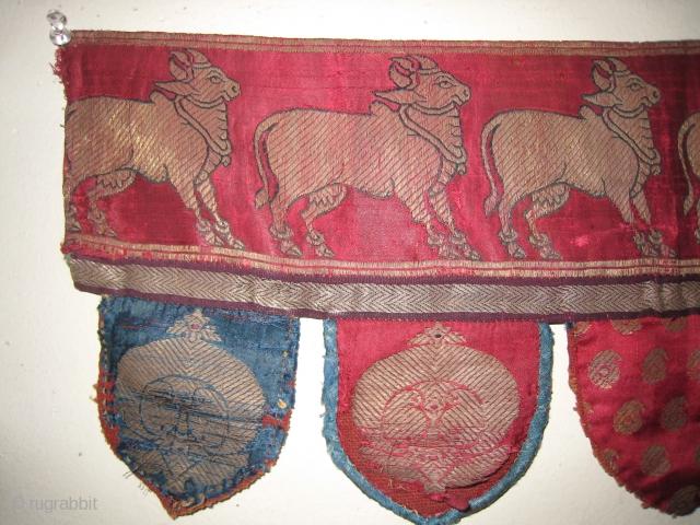 Rare Jain Textile with Cows