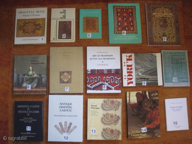 Books: 15 Euro each booksale: