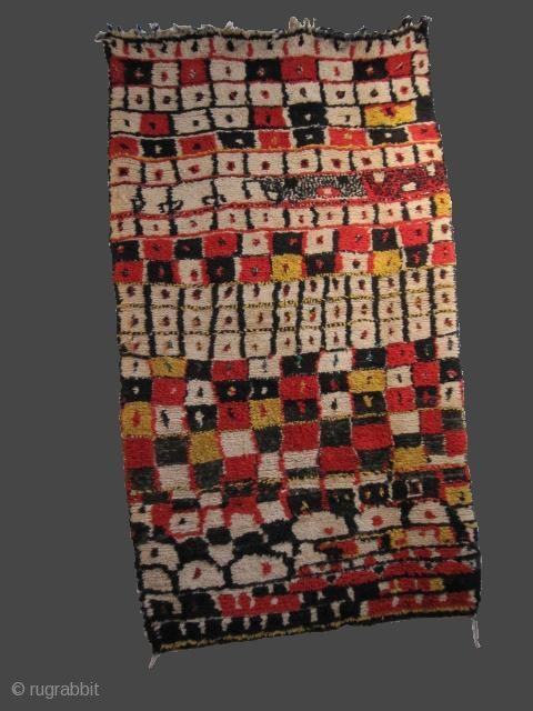 Boujaâd Moroccan rug..3rd quarter 2Oth..245 X 135 cm..