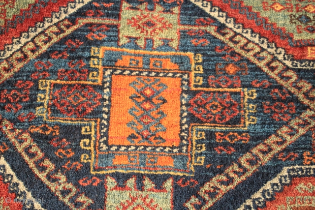 19th c Antep SE Anatolian Rug Fragment please ask for details