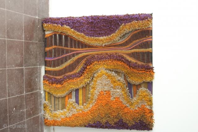 1972 Tisca Tapestry Design : ASAI NR:37, K.H. Kaeppel by Tisca  size 116,4 cm x 115 cm