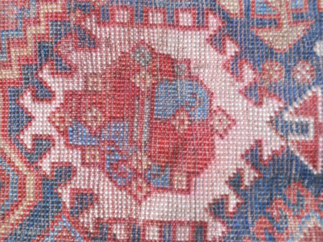 Early S/W Persian Tribe Maincarpet Fragment 