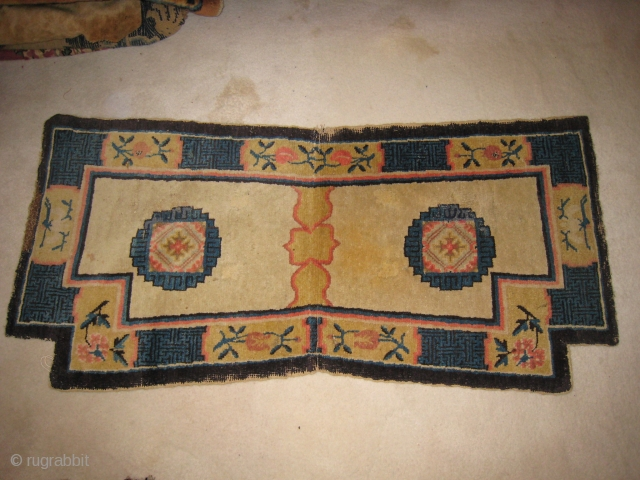 Chiense Saddle Carpet