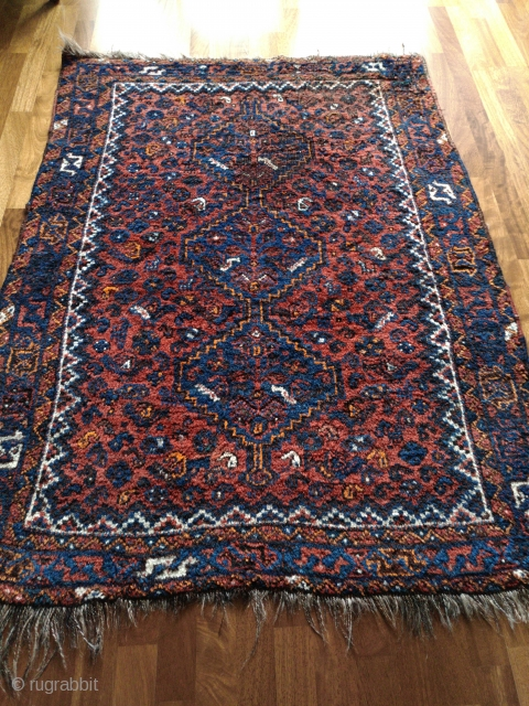 Shiraz tribal rug