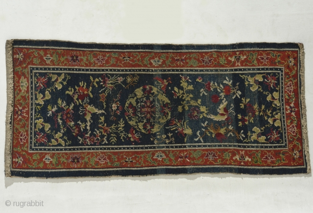 Tibet – Mid 19th century, unusually well made incorporating ½ and ¼ knots.  