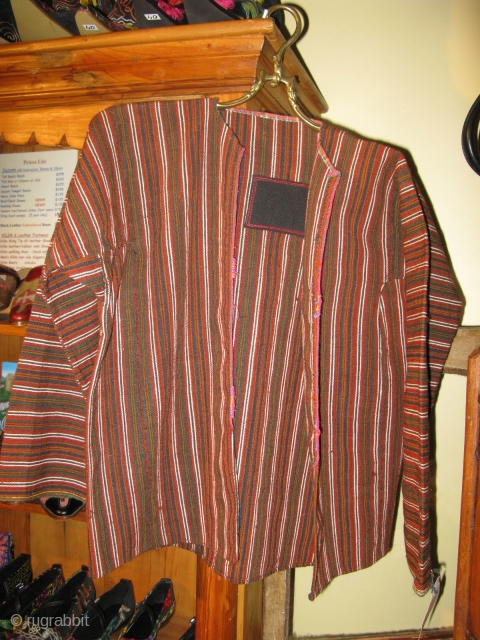 Anatolian Boy's hand woven wool jacket Circa 1910 -30.