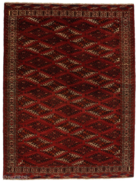 Antique Bokhara - Turkaman Carpet 295x217cm. More information here https://www.carpetu2.com