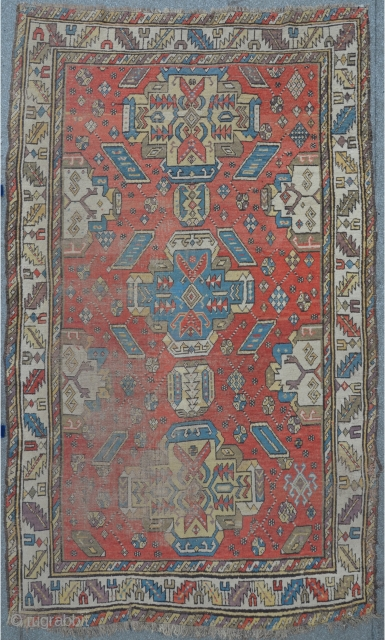 East Caucasian carpet, probably Derbent / Daghestan with kind of Alphan Kuba influenced design,19th c. 268 x 152 cm