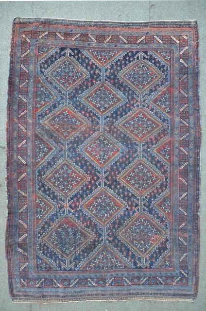 Antique Khamseh 146 x 220 cm, nice condition