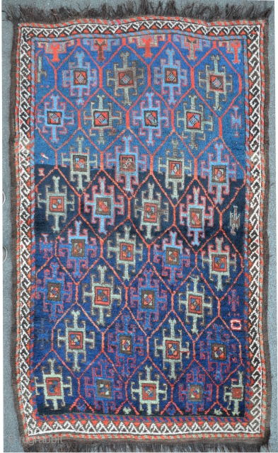 Antique Quchan, North-East Persia, 178 x 102 cm,