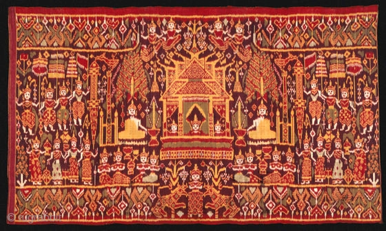 "Lecture & Exhibition: ""Religious Textiles of Southeast Asia"" with Rebecca Hall, Curator, 1 p.m. Saturday, October 15, 2018  Usc -Pacific Asia Museum, 46 N. Los Robles Ave.  Pasadena, Ca   ..."