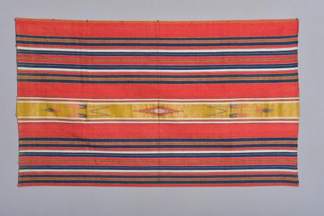 19th C. Aleppo Ottoman Syrian 'Zok' textile. Such textiles were often depicted in Giulio Rosati's Orientalist paintings of the same period.   Dimensions: 36 X 22 inches Origin: Ottoman Empire, Syria / Aleppo Circa: Late  ...