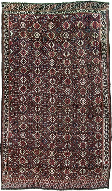 Chodor Main Carpet, 8&#039;7 x 14&#039;7. For a full description of this carpet, see Image #2. (Inventory Number 65.)              