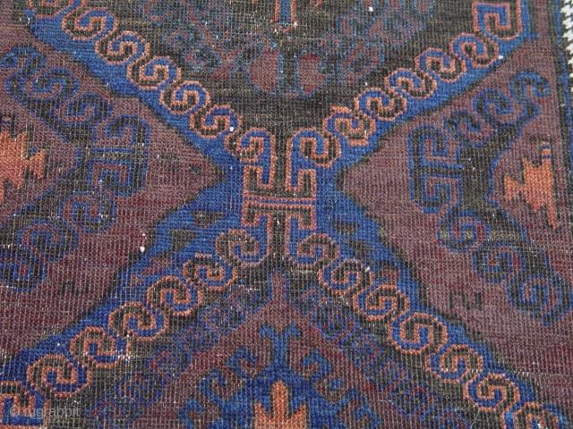 """Antique Baluch rug, 3'5"""" x 5'10"""""""