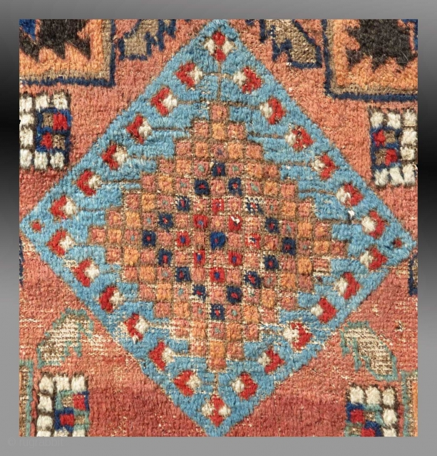 Afshar Rug, S. Persia,, early 19th C (or before)  Please inquire for more information, images & price.