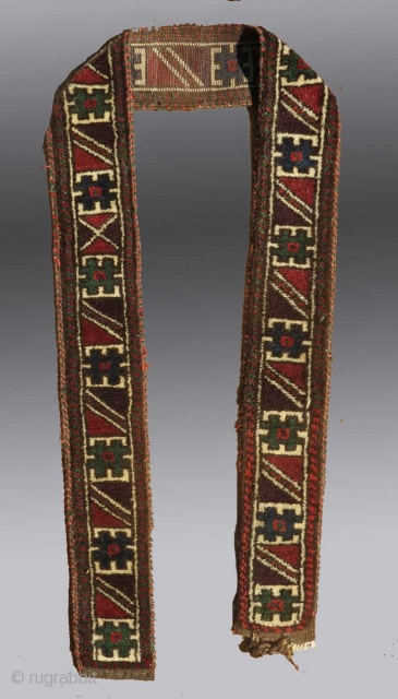 Baluch Animal Trapping/Band, SE Persia, 19th C.  Email for more images and pricing.