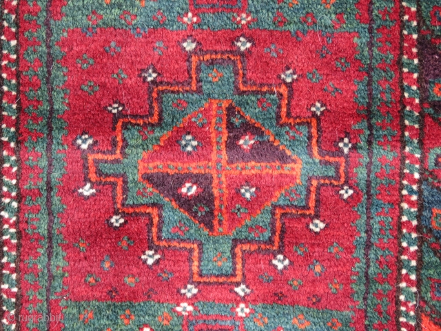 """Baluch Balisht, SE Persia, 19th C., 1'6 x 2'7""""  Please inquire for further information/images."""