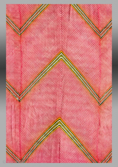 Tie Dye Textile, W. India (Rajasthan), circa 1920