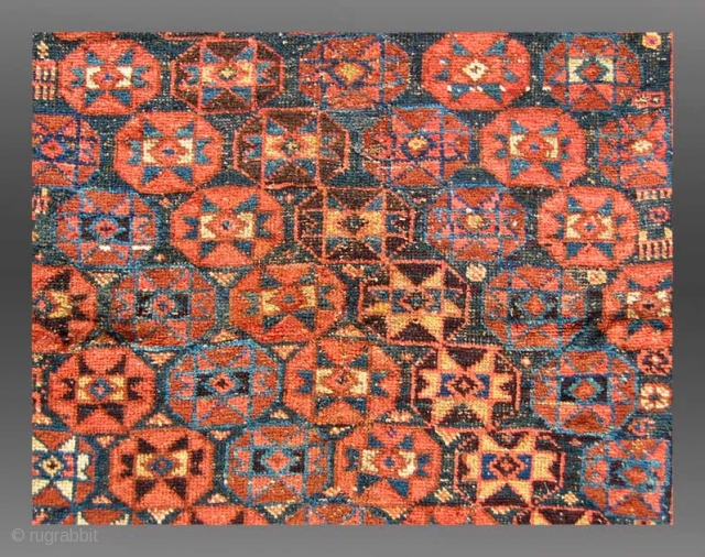 "Afshar Rug, Persia, 19th Century, 3'10"" x 5'2""