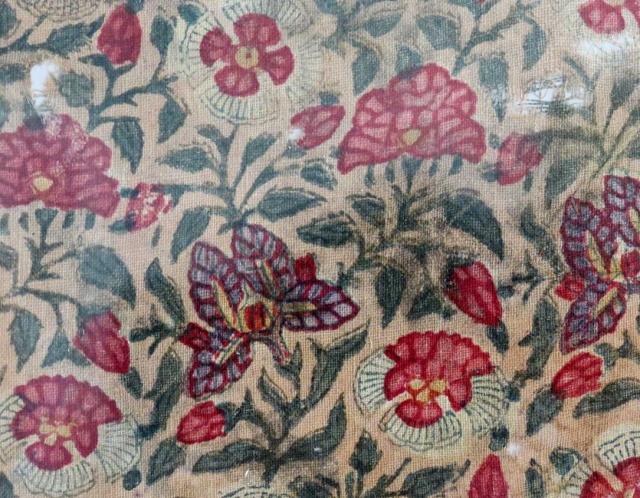 Block Print Cotton Textile (fragment), India, circa 1800 (or before)