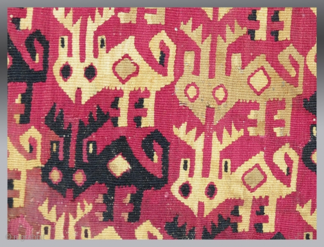 Chimu Period Textile, 15th Century