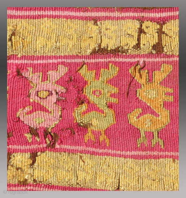 Chimu Tunic (fragmented), Central Coast of Peru, circa 1400, 1'7' X 1' 6"