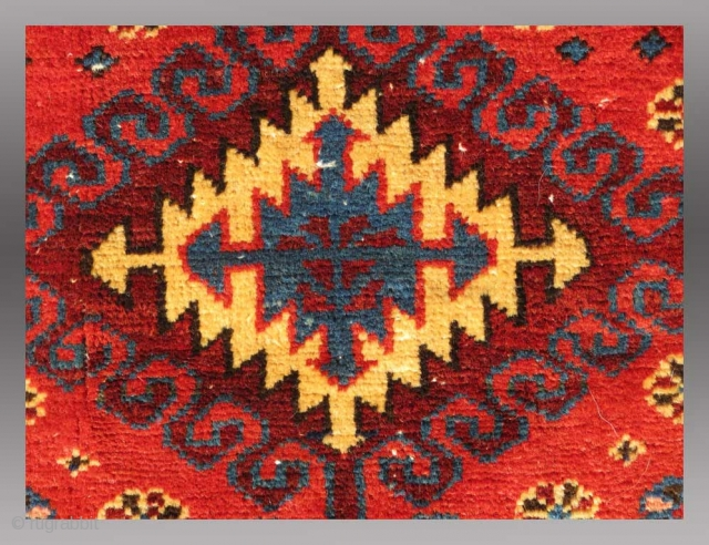 "Kurd Mafrash Panel, NW Persia, 19th C., approx 1'4"" x 1'7""