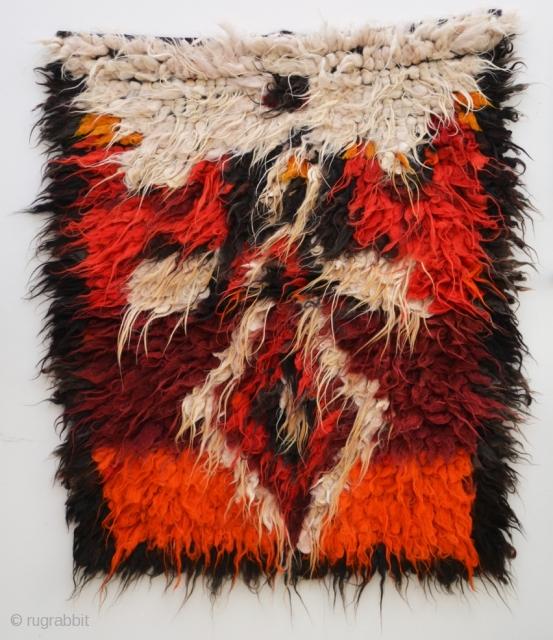 Adiyaman Tulu - gorgeous wild beast of a sleeping rug, 114x140cm, www.tinatabone.com