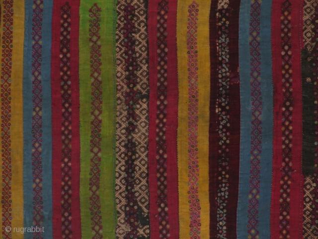 Zoroastrian trouser fragment. 50x43cm. see more on www.tinatabone.com