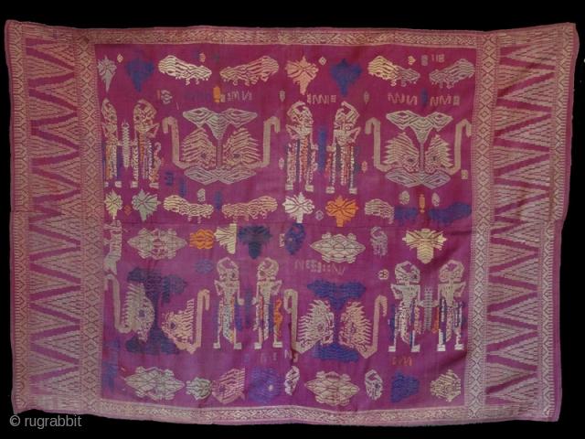 Balinese cloth with figure. www.tinatabone.com