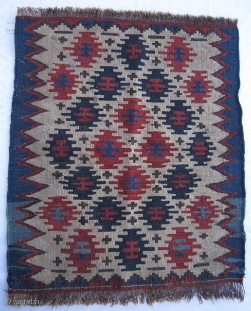Caucasian bag face, size 60x50cm