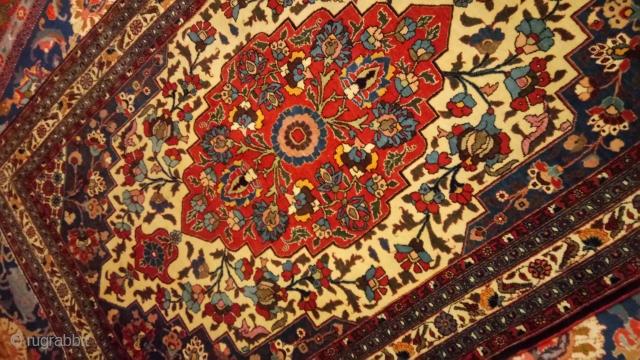 Antique Tehran rugs