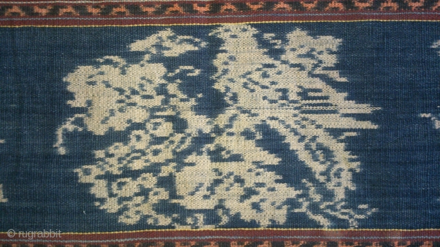 Antique traditional Ikat cotton, indonesia , no: 179, size: 274*72cm.