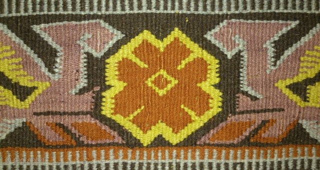 Antique cushion Norwegian kilim, no: 214, size: 48*43cm.