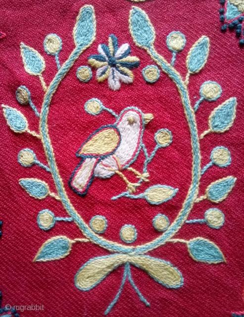 Cushion Swedish embroidery wool on wool, no: 419, size: 41*41cm.