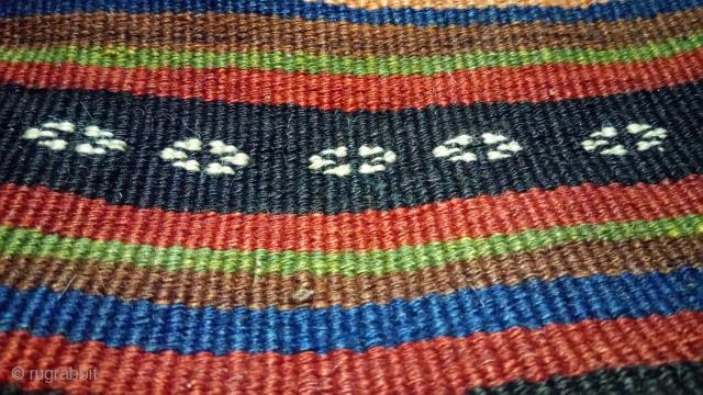 Antique persian kilim, great colors and natural colors.