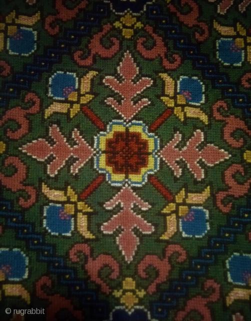 Swedish cross stitch, Great color.