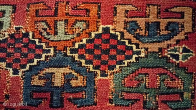 Antique Caucasian Soumak(sumakh), high quality and great natural color