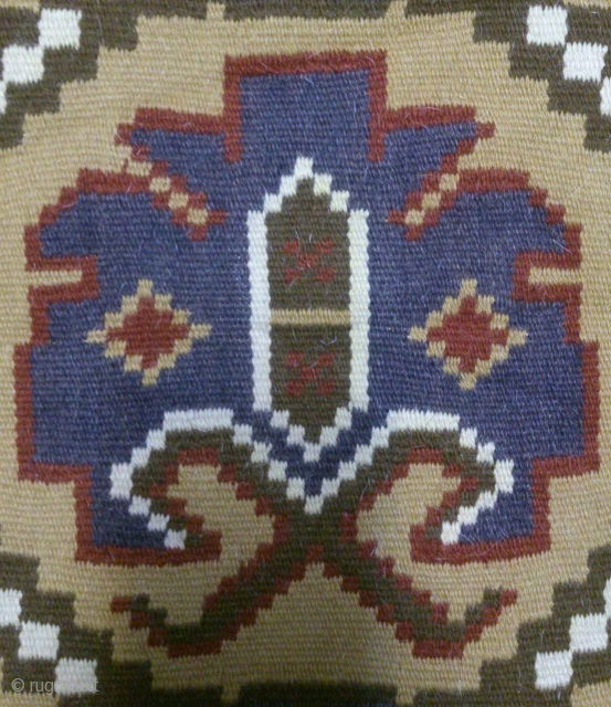 Antique Swedish kilim(Rolakan technique), no: 344, size: 72*60cm, wall hangings.