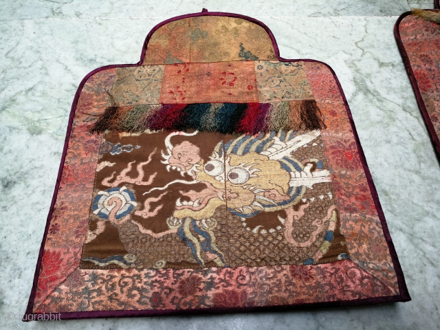 Antique Tibetan/Chinese Textile. Good age .