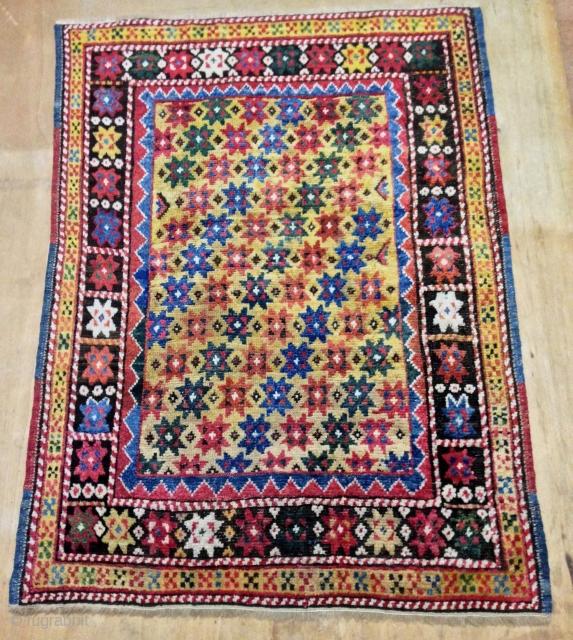 antique west anatolian dazkiri rug  19th century  cm 1.34 x 0.94 SOLD