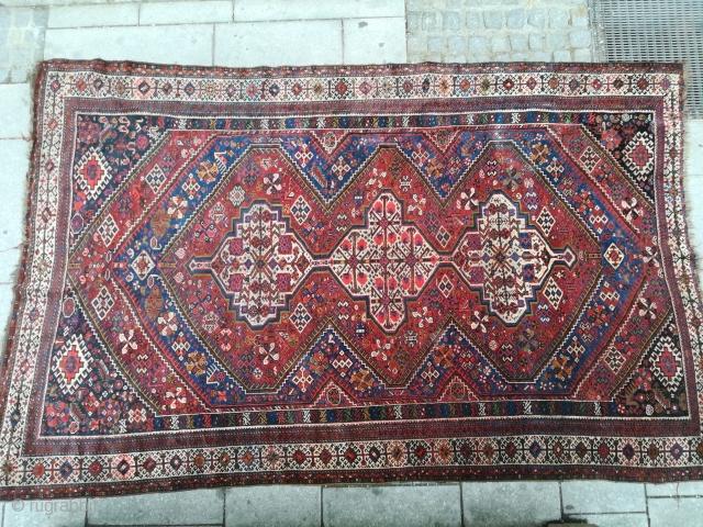 Antique Gaschgai ca. 265x165 cm