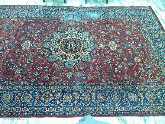 1930s Isfahan rug
