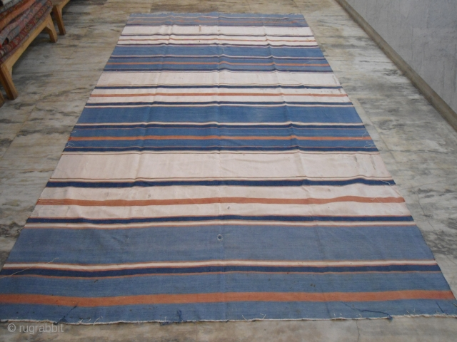 cotton Dhurrie, India