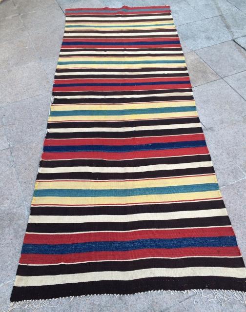 Shahsevan kilim size 265x105cm