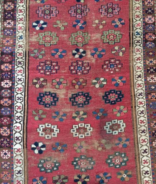 Persian fragmant carpet size 330x110cm