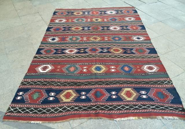 Caucasian kilim Size 280x185 cm