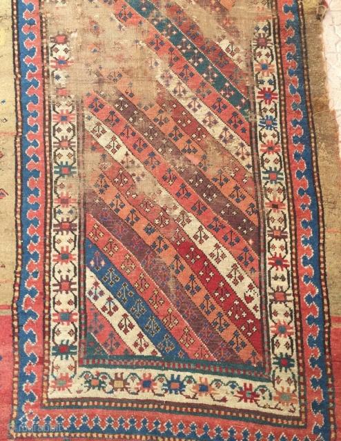 Mogan or Shahsavan Carpet size 265x110cm
