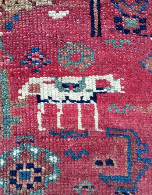 Persian Kurdish Carpet size 254x117cm
