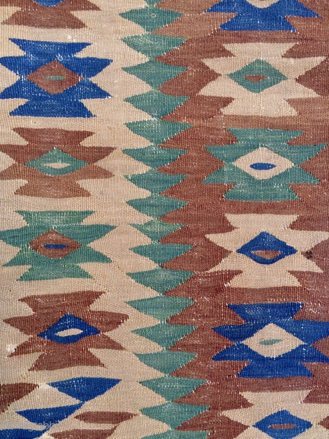 Sharköy kilim size 220x174cm